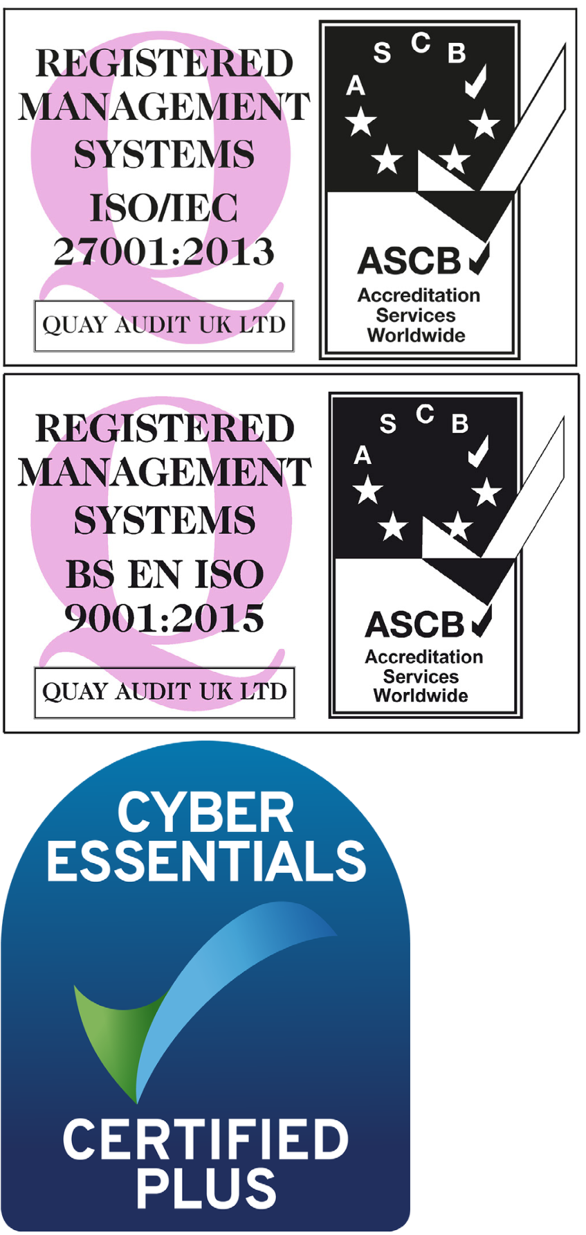 Certificates - Vertical