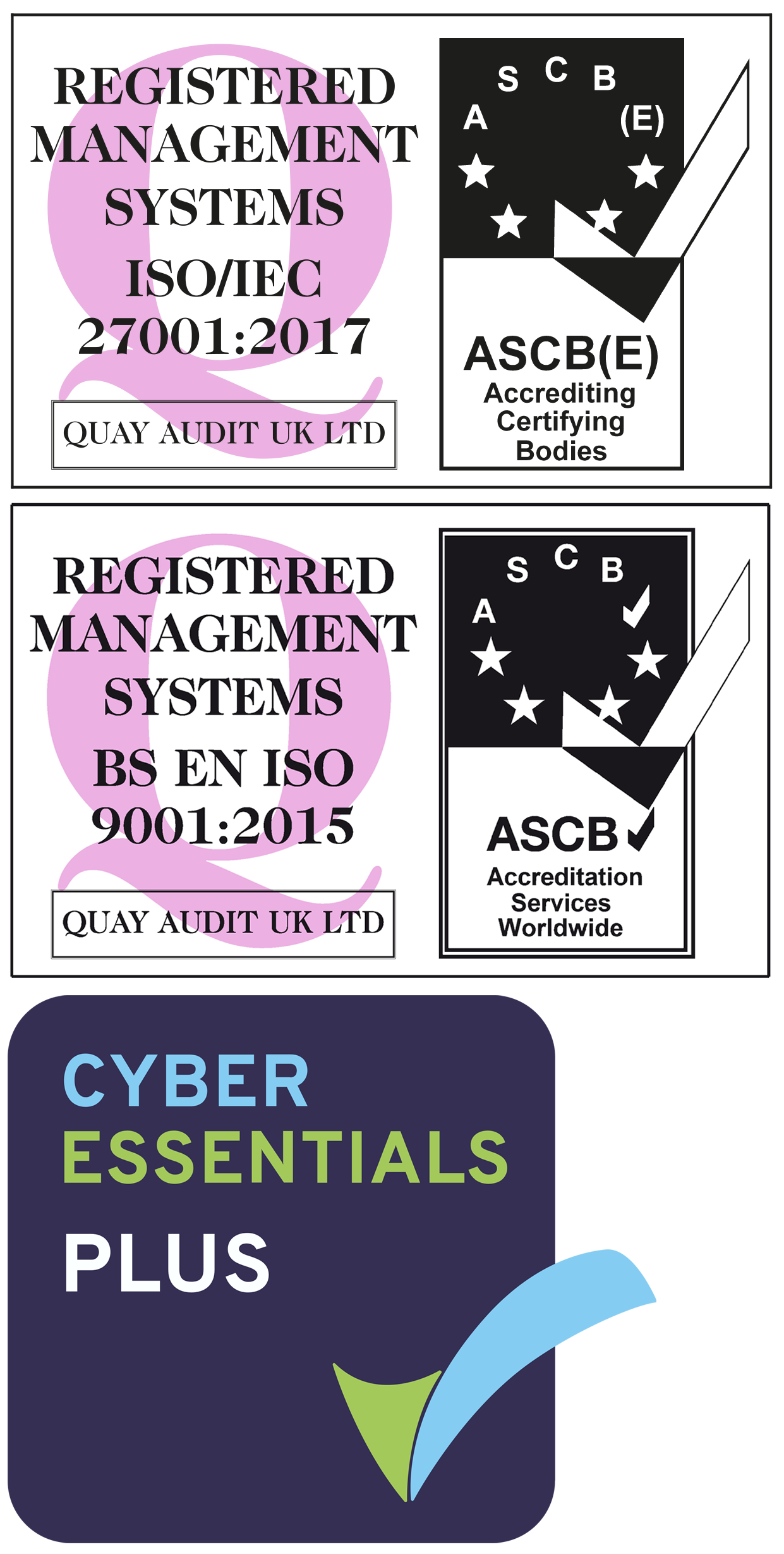 ISO Cyber Logos 3